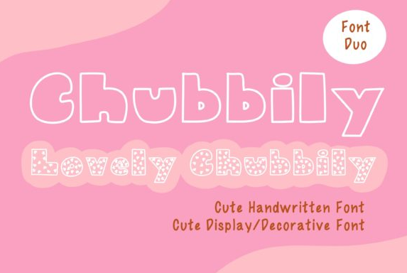 creativefabrica-chubbily-and-lovely-chubbily-font-2021-png.15424